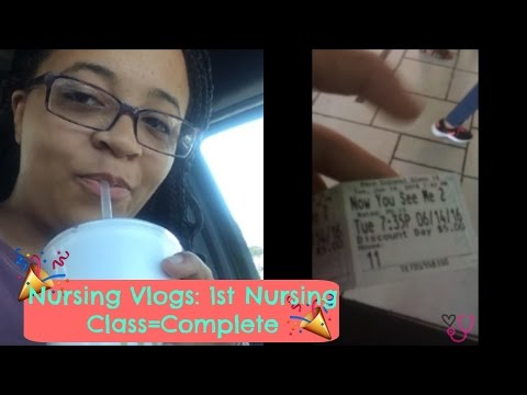 Nursing Vlogs: Finishing My First Class!