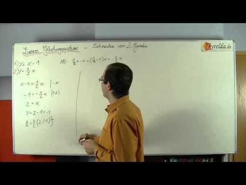LGS - 2 Variabelen 2 Gleichungen