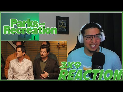 SWEET!! | Parks and Recreation 3X9 REACTION | Season 3 Episode 9