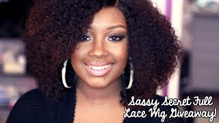 GIVEAWAY | Win A Sassy Secret Full Lace Wig! (CLOSED)