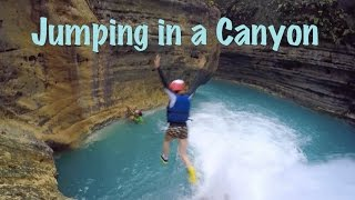 Badian Philippines  City new picture : Canyoneering or Canyoning - Kawasan Falls - Badian, Cebu Island, Philippines
