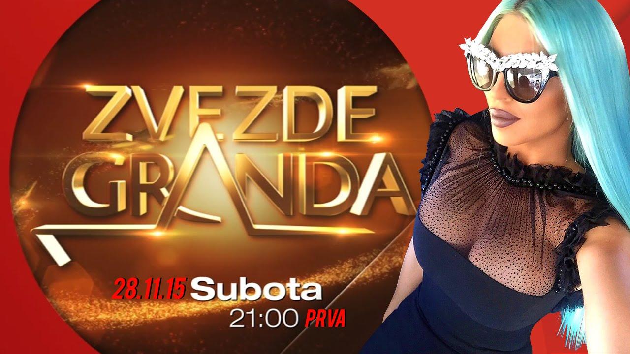 ZVEZDE GRANDA 2015 – 2016 – deseta emisija – 28. 11. – najava
