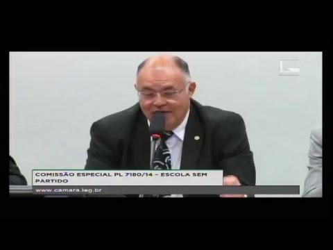 PL 7180/14 - ESCOLA SEM PARTIDO - Reunião Deliberativa - 13/06/2017 - 15:48