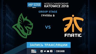 Heroic vs fnatic - IEM Katowice 2018 - de_cobblestone [SleepSomeWhile, GodMint]