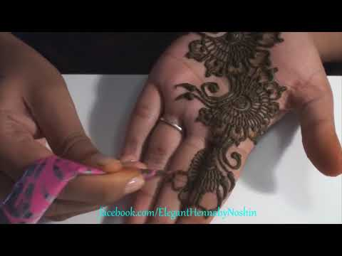 Video 3  Repeatable Floral Henna Mehndi Design download in MP3, 3GP, MP4, WEBM, AVI, FLV January 2017