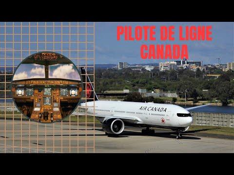 Comment DEVENIR PILOTE DE LIGNE AU CANADA ? ????????