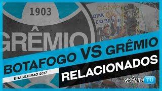 Confira os relacionados do Tricolor para a partida contra o Botafogo no Rio de Janeiro, no Estádio Engenhão! A partida é válida...