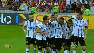 Gols do jogo Flamengo 0 x 3 Corinthians - 13ª Rodada Brasileirão 2015 - 12/07/2015.