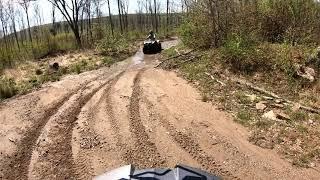 7. Suzuki Kingquad 400 ATV riding