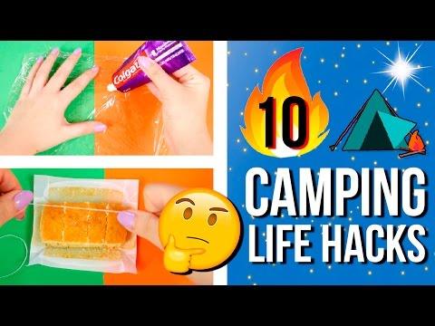 � ¡10 TRUCOS de ACAMPADA! � INGENIOSOS y PR�CTICOS Life Hacks para CAMPING o VIAJES