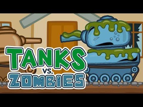 Танки против Зомби - Эпизод 5 | Мультик про танки
