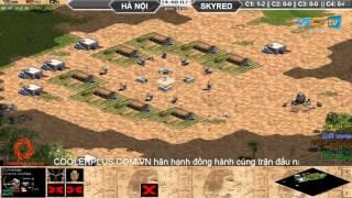 Hà Nội vs Skyred, Ngày 13/10/2015, C1T4, game đế chế, clip aoe, chim sẻ đi nắng, aoe 2015