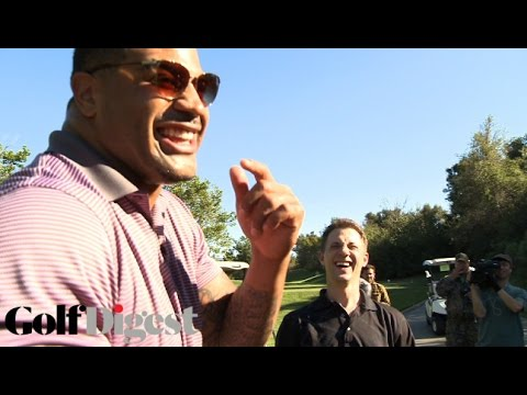 Retired NFL Player Shawne Merriman Goes Psycho on Unsuspecting Golfer