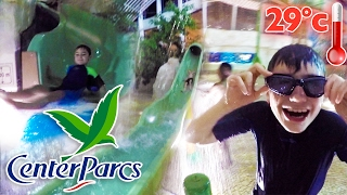 Video VLOG - PARC AQUATIQUE CENTER PARCS - TOBOGGANS & FUN À L'AQUA MUNDO MP3, 3GP, MP4, WEBM, AVI, FLV Agustus 2017