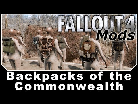 Fallout 4 Mods - Backpacks Of The Commonwealth