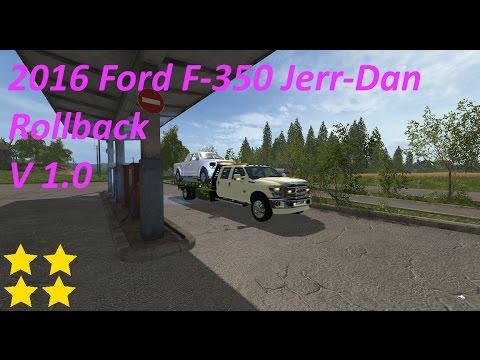 2016 Ford F-350 Jerr-Dan Rollback v1.0