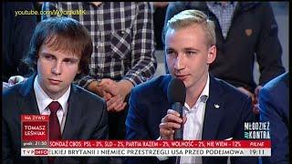 Doradca Dudy zdenerwował się na młodzież 'Zaraz zabiorę ci ten mikrofon!' – Awantura w TVP