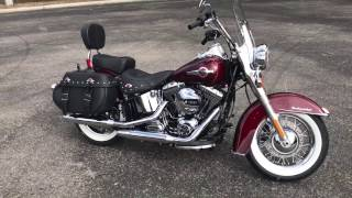 5. 2017 HARLEY DAVIDSON FLSTC HERITAGE SOFTAIL CLASSIC FOR SALE