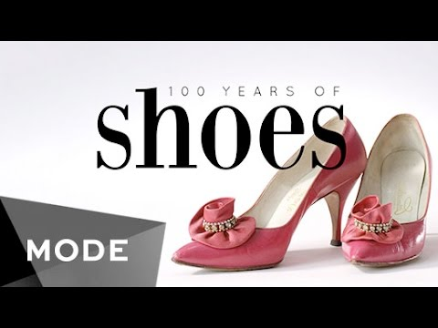 100 Years of Women s Shoe Fashion