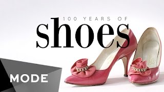 Take a (well-heeled) walk down memory lane and peep at the peep-toes, pumps, platforms, and other shoes that have kept us in step for the past century. http://mode.com/mode-video3D Printed Shoes: http://www.continuumfashion.comShoes 1900- 1980 Provided By: Cicely Hansen, owner of Decades of Fashion San Francisco. http://www.decadesoffashionsf.com415-551-1653For more videos like this, visit us on MODE: http://www.mode.com/mode-video Follow us on Twitter: http://twitter.com/modestoriesFriend us on Facebook: https://www.facebook.com/modestoriesCheck us out on Instagram: http://instagram.com/modestoriesGet inspired on Pinterest: http://www.pinterest.com/modestoriesAdd us to your circle on Google+: http://bit.ly/glam-googleplus