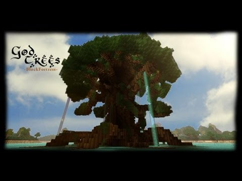 Minecraft - God Trees