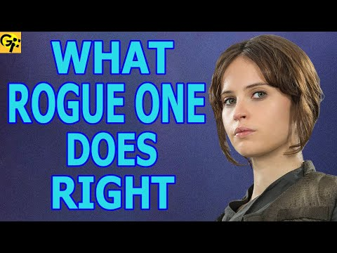 Why ROGUE ONE is SO GOOD