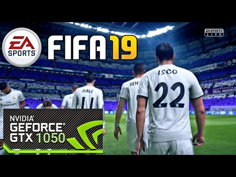 FIFA 19 Gameplay On GTX 1050  (Laptop)