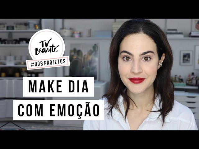 Make Dia com Emoção usando Natura Una - TV Beauté | Vic Ceridono - Victoria Ceridono
