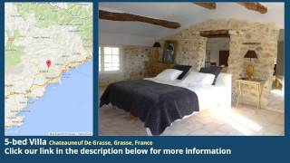 Chateauneuf-Grasse France  city photo : 5-bed Villa for Sale in Chateauneuf De Grasse, Grasse, France on frenchlife.biz