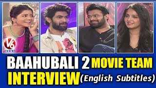 Video Baahubali 2 Movie Team Interview With Savitri | Prabhas | Anushka | Rana | V6 News MP3, 3GP, MP4, WEBM, AVI, FLV April 2019