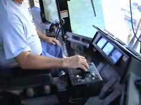 Cat 992 loader Looking inside the cab