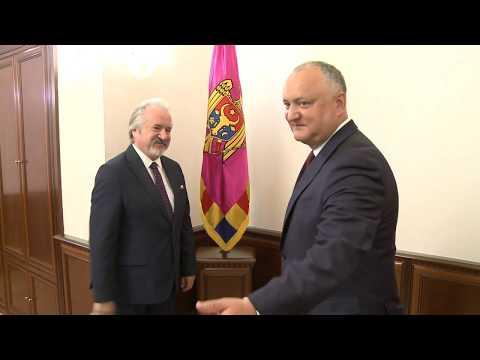 Președintele Republicii Moldova a avut o întrevedere cu Ambasadorul Republicii Turcia