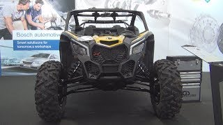 8. Can-Am Maverick X3 X DS Turbo R (2018) Exterior and Interior