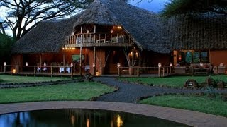Amboseli National Park Kenya  city photos gallery : Tawi Lodge, Amboseli National Park. Kenya - Unravel Travel TV