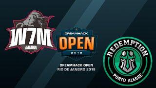 W7M vs Redemption - DreamHack Open Rio 2019 - map1 - de_overpass [ceh9]
