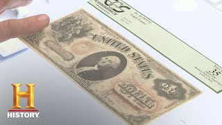 Video Pawn Stars: 1875 $1 and 1883 $5 Bills (Season 6) | History MP3, 3GP, MP4, WEBM, AVI, FLV Januari 2019