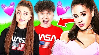 Surprising my Little Brother with ARIANA GRANDE!