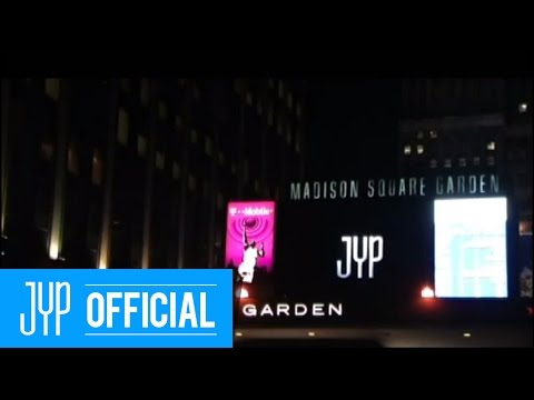 the jyp tour in nyc ad at madison square garden marquee