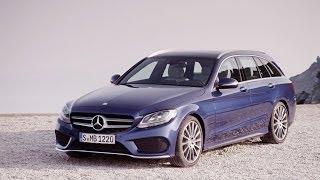 NEW 2015 Mercedes C-Class Estate reveal promo