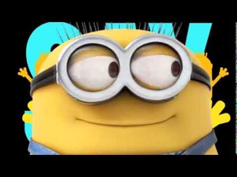 Pharrell Williams Happy Despicable Me 2 Lyric Video