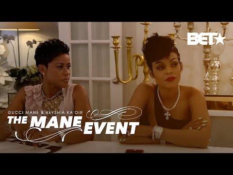 The Gucci Mane Keyshia Kaoir Wedding Planner Live Stream (видео)