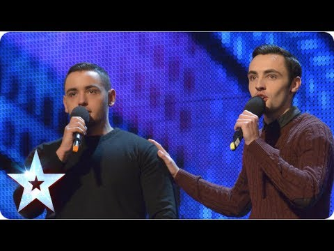 Richard and Adam singing 'The Impossible Dream' – Week 2 Auditions | Britain's Got Talent 2013