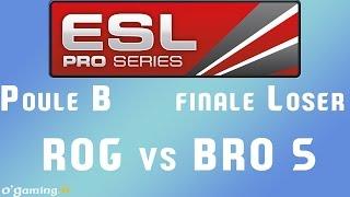 EPS XIII - Poule B - finale L - ROG vs BRO 5