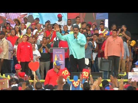 Umstrittene Präsidentenwahl am 20. Mai in Venezuela