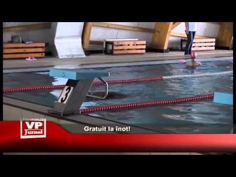 Gratuit la înot!
