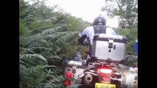 6. BMW F800GS : Off Road, Byway and Forest riding.