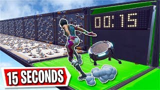 You have 15 SECONDS to beat this Deathun *HARD* (Fortnite Creative)