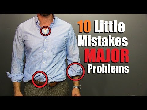 10 Minor Style Mistakes That Are A MAJOR Problem!