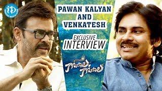 Video Pawan Kalyan and Venkatesh Exclusive Interview   Gopala Gopala Power Full Victory MP3, 3GP, MP4, WEBM, AVI, FLV Januari 2018