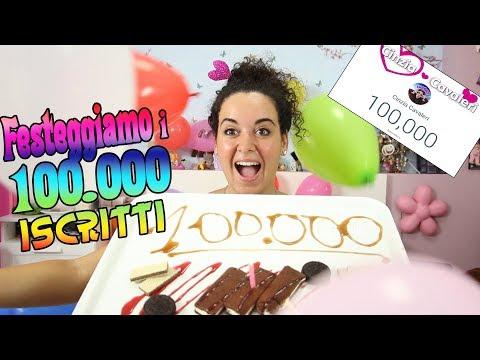 FESTA per i 100.000 ISCRITTI - GRAZIE A VOI! (видео)